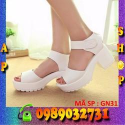 Giày sandal đế cao 5cm nữ - GN31