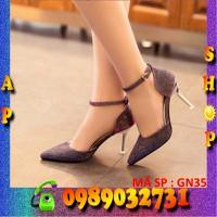 Giày cao gót hàn quốc cực xinh - GN35