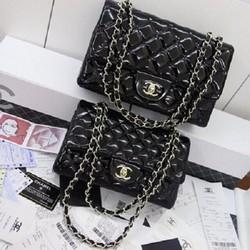 Túi xách Chanel Classic da bóng