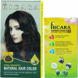 Thuốc nhuộm tóc Hicara 7N màu nâu sáng