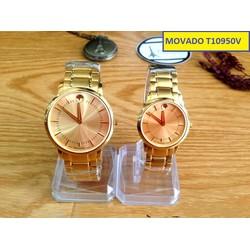 Đồng hồ cặp đôi MV T10950V sang trọng màu sắc tinh tế
