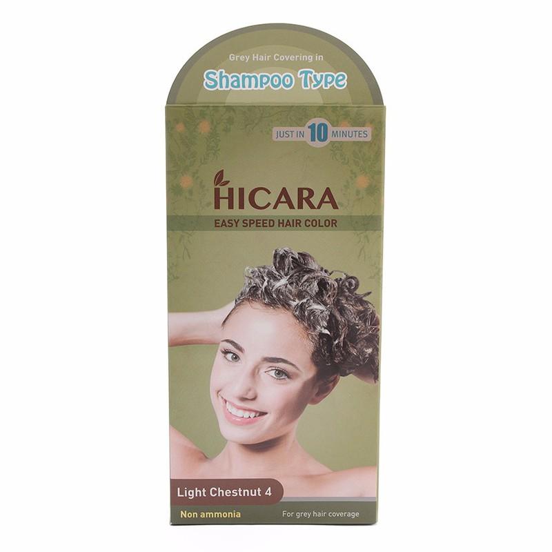Thuốc nhuộm tóc dạng gội Hicara Easy 4 1