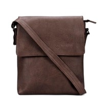 Túi Ipad Huy Hoàng da tổng hợp màu nâu TX6168