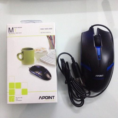 Chuột máy tính Apoint M1 cổng USB