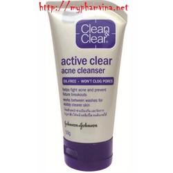 Sữa rửa mặt  Clean Clear Active Clear Acne Cleanser