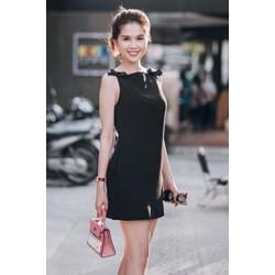 Đầm Suông Đính Nơ Dễ Thương Như Ngọc Trinh - D2703