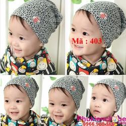 Mũ vải cho bé sơ sinh 0 - 14 tháng