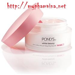 Combo 2 hộp Kem dưỡng trắng da ban ngày và đêm Ponds White Beauty 50g
