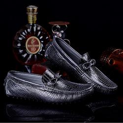 Giày lười nam da cá sấu cao cấp mẫu mới 2016 ZS038