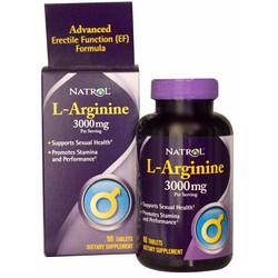 Natrol L-Arginine 3000mg 90viên tăng cơ bắp và ham muốn tình dục