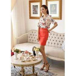 BT980172 Áo hoa sành điệu, giá rẻ