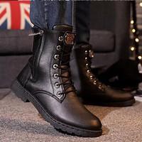 DC087 - Giày Boot Nam Cổ Cao POSAShop