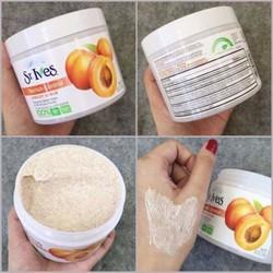 Kem tẩy tế bào chết toàn thân  ST.Ives Blemish Control Apricot Scrub