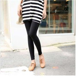 Quần legging nữ thun cotton thời trang