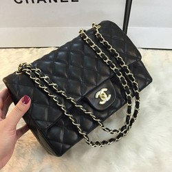 Túi xách Chanel Classic da mịn loại lớn