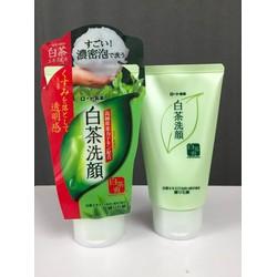 Rửa Mặt Trà Xanh Nhật Rohto Shirochasou Green Tea Foam