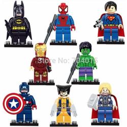 Bộ sưu tập lego mininon siêu anh hùng cực yêu