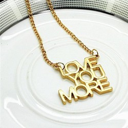 Vòng cổ I LOVE YOU MORE