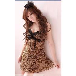 Đầm Ngủ Sexy Da Báo Gợi Cảm - BY5015