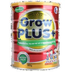 Sữa nutifood Grow plus + cho trẻ suy dinh dưỡng thấp  còi