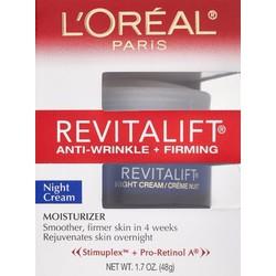 Kem chống nhăn ban đêm L Oreal Paris Revitalift 48g