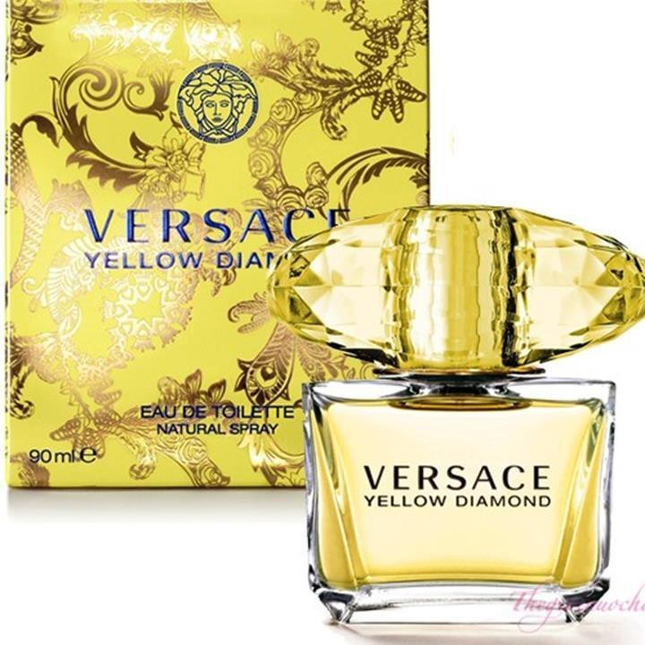NƯỚC HOA NỮ VERSACE YELLOW DIAMOND 90ML 1