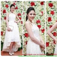 Đầm yếm ren váy cách điệu xinh xắn duyên dáng sDMX155