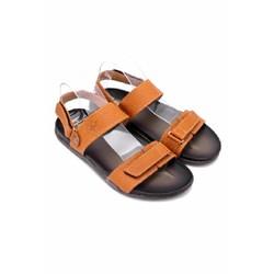 Dép sandal nam Huy Hoàng quai hậu màu da TX7172