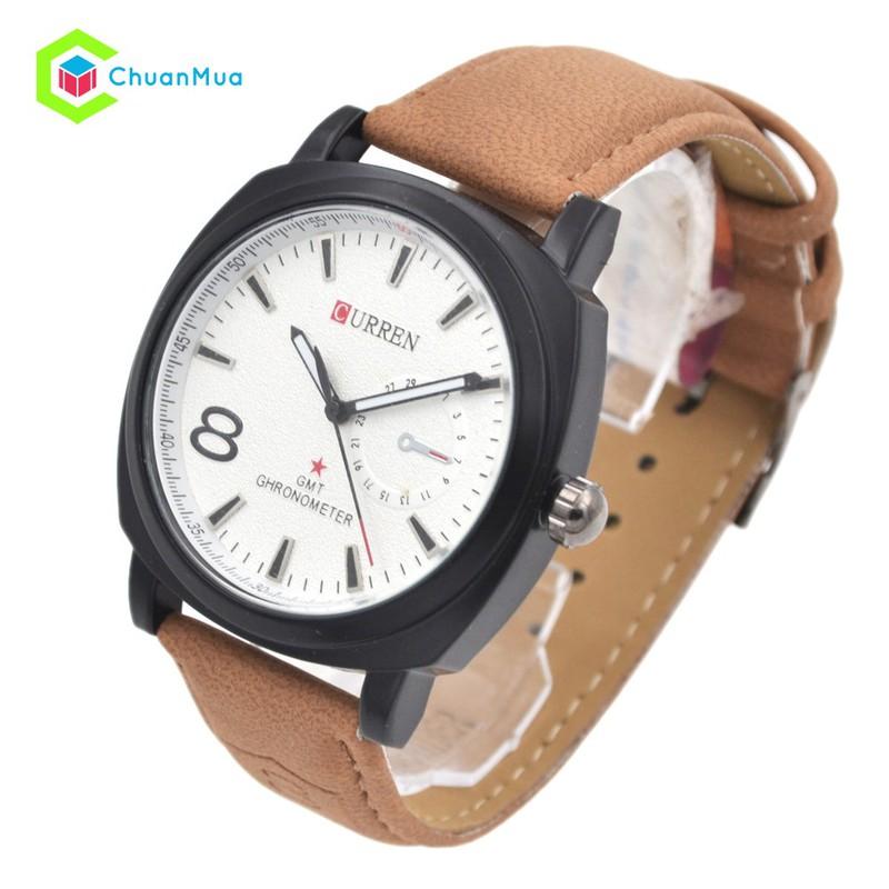 мужские часы curren chronometer gmt 8 нужно ориентироваться, прежде