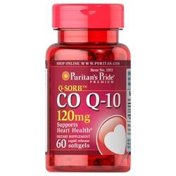 Thực phẩm chức năng CoQ-10 khỏe cho tim mạch