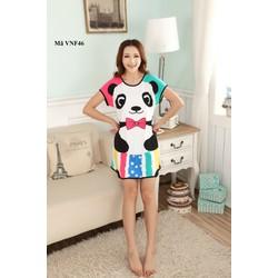 Váy ngủ free size với nhiều hình ngộ nghĩnh VNF46