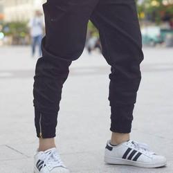 jogger zip chân kaki big size