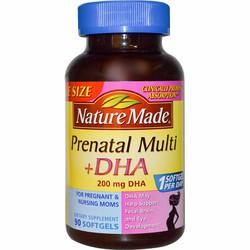 Vitamin Prenatal Multi + DHA cho bà bầu Nature Made 90 viên