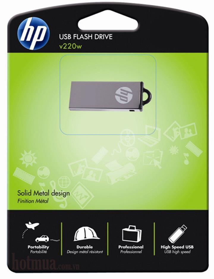 USB Hp 4GB Chính Hãng Chống Thấm Nước 8