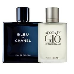 Combo 2 chai Nước hoa Nam Bleu và Gio Pour Homme 100ml