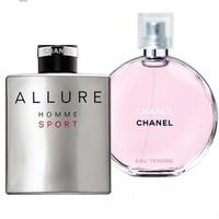 Combo 2 chai Nước hoa Nam Nữ Chanel 100ml
