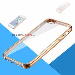 Ốp lưng dẻo viền tráng gương Iphone 5
