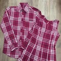 Sét áo váy đôi sọc caro trẻ trung sành điệu ATD93