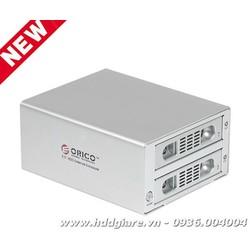 Thiết bị kết nối 2 ổ cứng máy tính để bàn model Orico 3529RUS3 - RAID