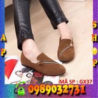 Giày lười , giày slip on , giày mọi nữ - GX37