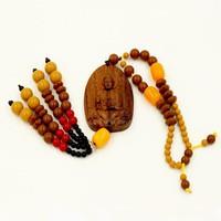 Dây treo Phong thủy Phật Quan âm gỗ