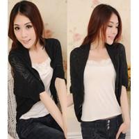 Áo khoác len nữ phong cách Hàn Quốc xinh xắn-AK390