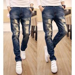 Mã MM1015 - Quần jeans mài trẻ trung, phong cách