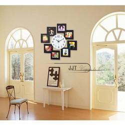 Đồng hồ trang trí kèm khung hình treo tường JT8011