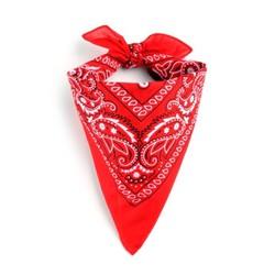 Khăn Bandana đỏ cổ điển