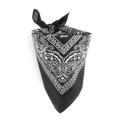 khăn bandana đen cổ điển