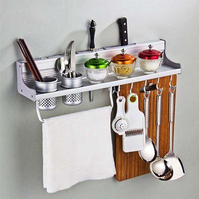 Kệ treo đồ dùng nhà bếp 2 ống đũa 0973809698 1