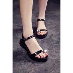 HÀNG CAO CẤP LOẠI I - Giày sandal xỏ ngón đính hột