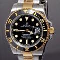Đồng hồ Rolex R204 mặt đen dây vàng trắng deo cực đẹp