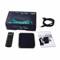 Thiết bị Tivi thông minh Android TV box MXQ Pro - Đen